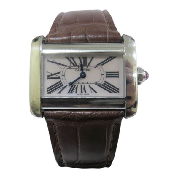 Picture of Cartier Divan Stainless Steel Ladies Watch