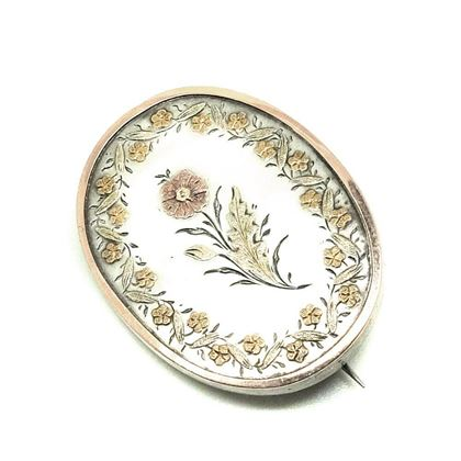 antique-victorian-c1890-silver-gold-floral-brooch-2