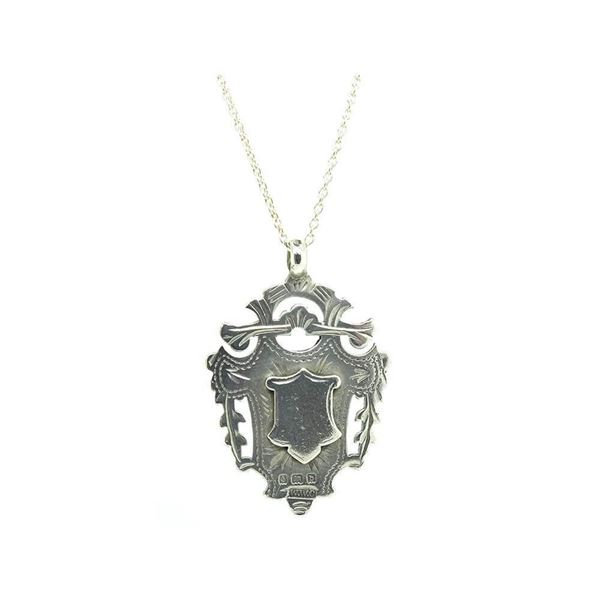 antique-1901-silver-medallion-pendant-necklace-2