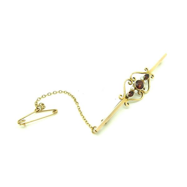 antique-victorian-garnet-9ct-gold-bar-gemstone-brooch