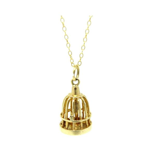 vintage-1972-9ct-yellow-gold-birdcage-charm-necklace