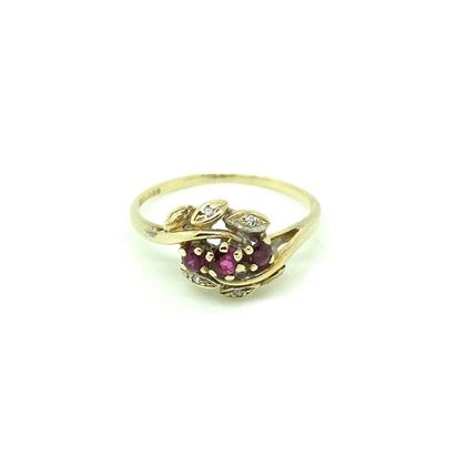 vintage-1980s-diamond-ruby-9ct-gold-ring-2