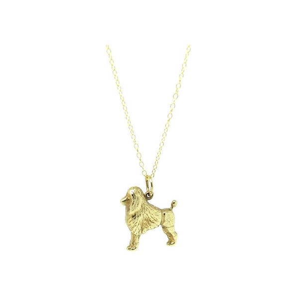 vintage-1960s-9ct-gold-poodle-dog-charm-necklace