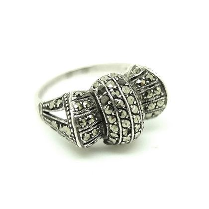 vintage-1930s-art-deco-bow-marcasite-silver-ring