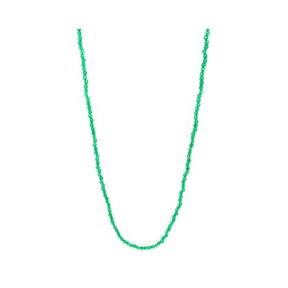 green-agate-9ct-yellow-gold-beaded-choker-necklace