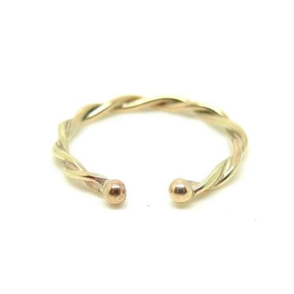 handmade-twisted-9ct-yellow-gold-ball-pinky-ring