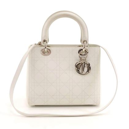 christian-dior-lady-dior-medium-white-quilted-cannage-leather-handbag-strap