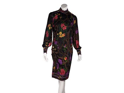 multicolor-vintage-leonard-floral-printed-dress-2