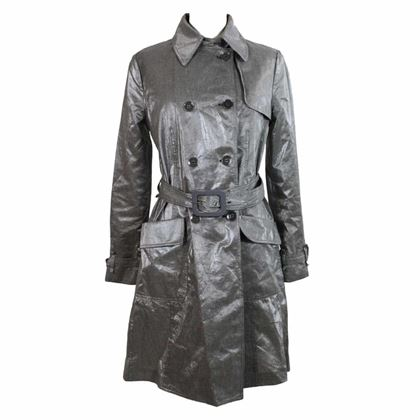giorgio-armani-trench-raincoat-linen-check-vintage-gray