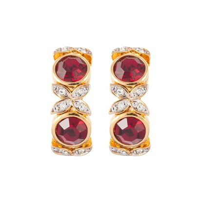 1980s-vintage-dorlan-ruby-red-swarovski-crystal-clip-on-earrings