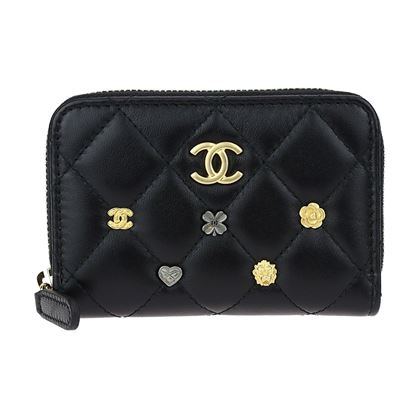 chanel-black-lambskin-leather-lucky-charms-zip-coin-purse