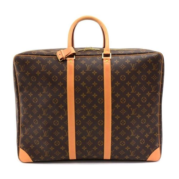 ... Suitcase Travel Bag. louis-vuitton-sirius-55-monogram-canvas-soft-sided- aa4602d2dc