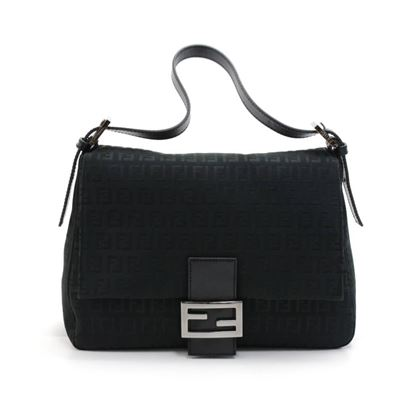 fendi-forever-mama-black-zucchino-canvas-flap-shoulder-bag