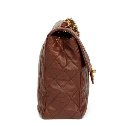 brown-quilted-lambskin-vintage-jumbo-xl-soft-flap-bag