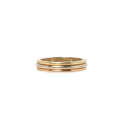 cartier-18k-three-color-ring-pink-goldwhite-gold