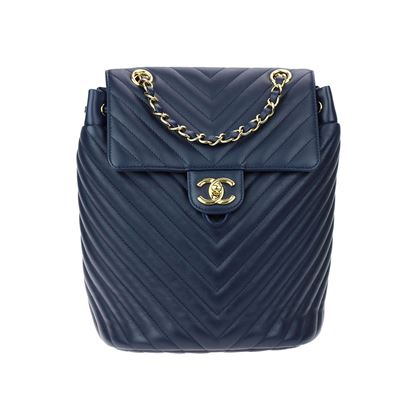 chanel-navy-blue-calfskin-leather-chevron-urban-spirit-backpack-ghw