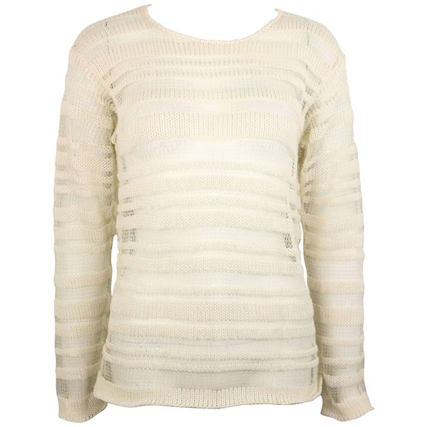 dolce-and-gabbana-white-cotton-and-silk-knitted-mesh-long-sleeves-sweater-top