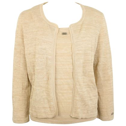 chanel-beige-cotton-and-rayon-cardigan
