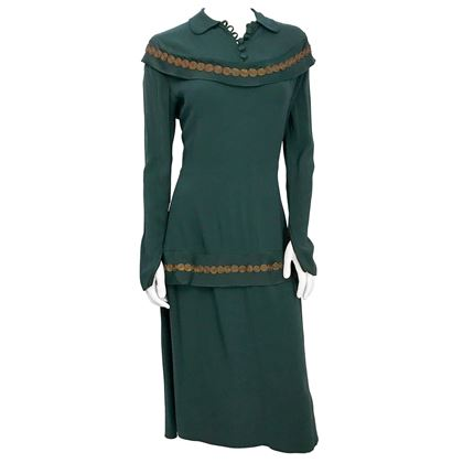 1930s-green-crepe-day-dress-with-antique-brass-trim
