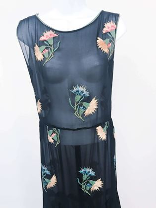 1920s-black-silk-chiffon-party-dress-with-embroidery