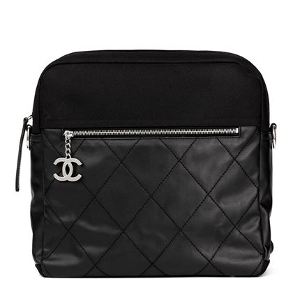 black-quilted-coated-canvas-convertible-backpack