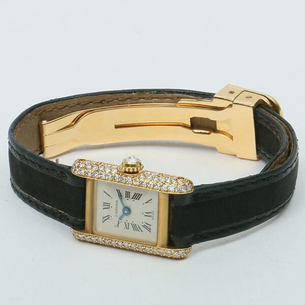 cartier-18k-mini-tank-diamond-bezel-black