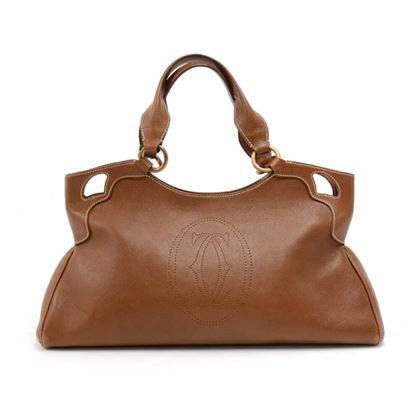 cartier-marcello-de-cartier-brown-calfskin-leather-handbag