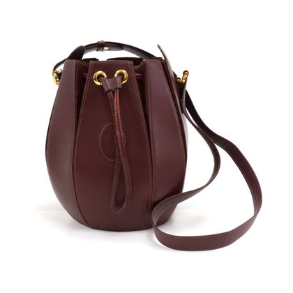 cartier-must-de-cartier-line-burgundy-leather-bucket-shoulder-bag-2