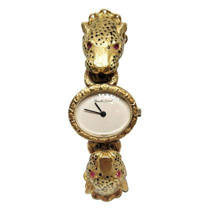 Picture of Elaborate Girod Beuche Leopard Style Vintage Ladies Watch