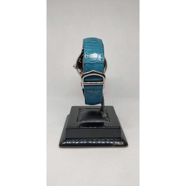 Picture of Cartier Must 21 Vintage Ladies Watch with Blue Strap