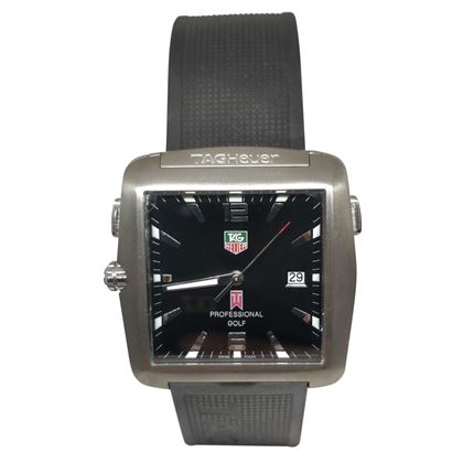 Picture of Tag Heuer Professional Gold Tiger Woods Edition