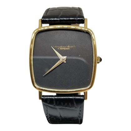 Picture of Vintage IWC Black Mens Dress Watch