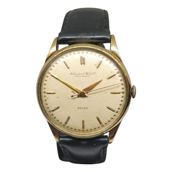 Picture of Vintage IWC Gold Mens Dress Watch