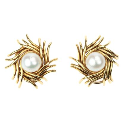 tiffany-co-jean-schlumberger-18k-yellow-gold-pearl-earrings