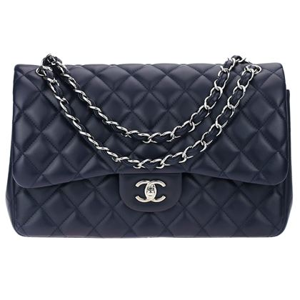chanel-dark-navy-blue-lambskin-leather-double-flap-bag