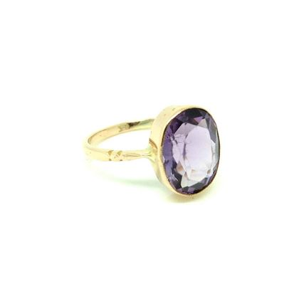 antique-victorian-amethyst-9ct-rose-gold-ring