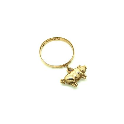 vintage-1920s-9ct-rose-gold-lucky-pig-charm-ring