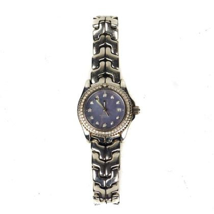 Tag Heuer Women'S Diamond Watch Professional 200 Meters Stainless Steel Sapphire  Pre-Owned Used