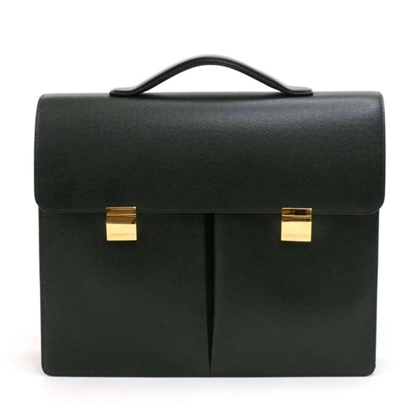 louis-vuitton-serviette-tobol-green-taiga-leather-briefcase