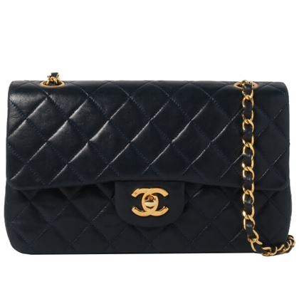 chanel-classic-flap-chain-bag-23cm-navy-7