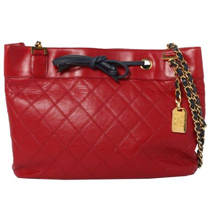 chanel-bicolor-bicolore-stitch-cc-mark-charm-shoulder-bag-rednavy