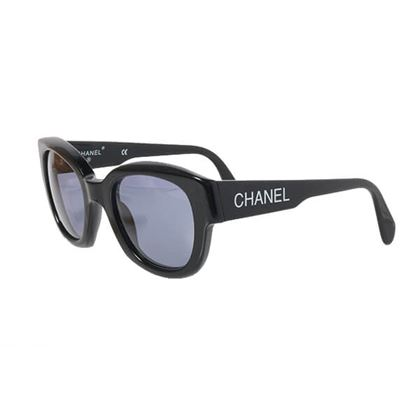 chanel-side-logo-sunglasses-black