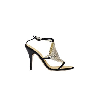 black-giuseppe-zanotti-crystal-evening-sandals
