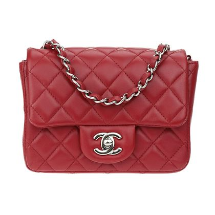 chanel-red-lambskin-leather-square-mini-flap-bag