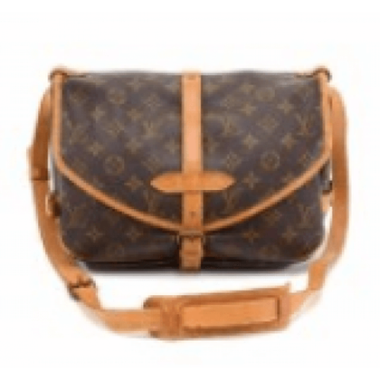 Vintage Louis Vuitton Saumur 30 Monogram Canvas Shoulder Bag