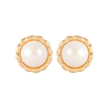 1980s-vintage-dorlan-faux-pearl-round-earrings