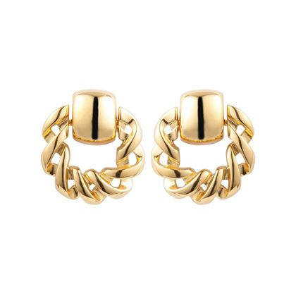 1980s-vintage-givenchy-twisted-hoop-drop-earrings