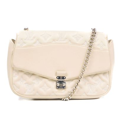 louis-vuitton-mama-broderie-leather-flap-chain-shoulder-bag-monogram-lv-white-pre-owned-used