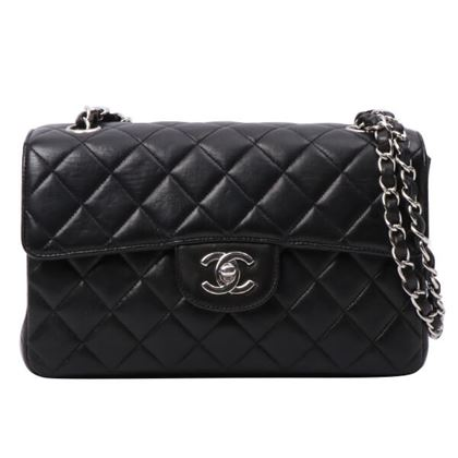 chanel-double-face-classic-flap-chain-bag-black-2