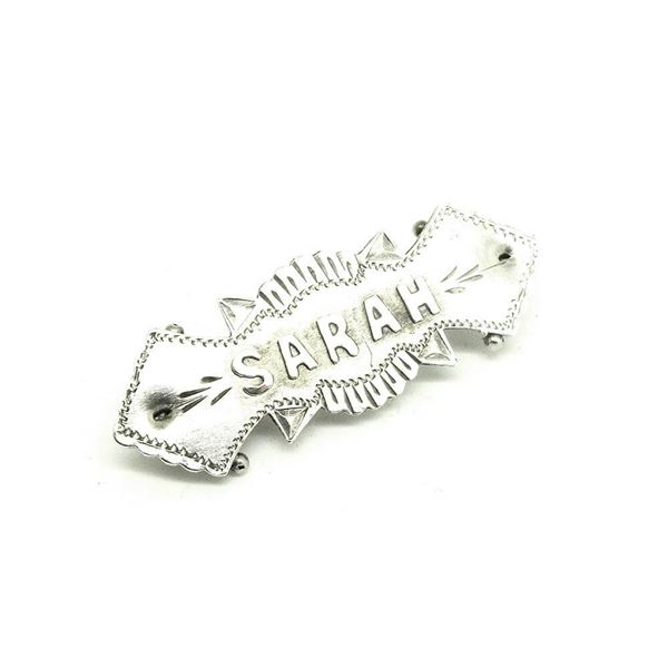 antique-1869-victorian-silver-sarah-name-brooch